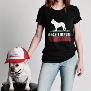 Frenchie Republic Black T-Shirt