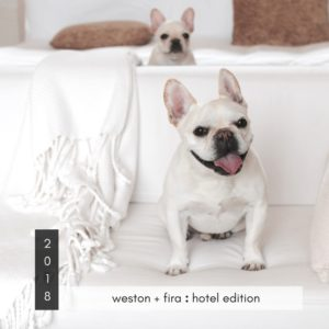 2018 Calendar Weston + Fira : Hotel Edition