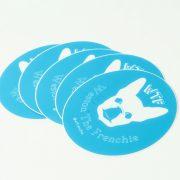 WTFrenchie Sticker