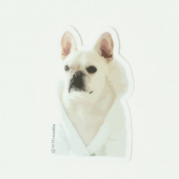 WTFrenchie Eat Play Jetset Sticker Pack