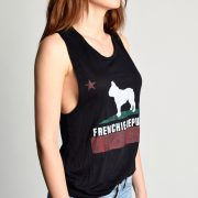 Frenchie Republic Muscle Tank Side