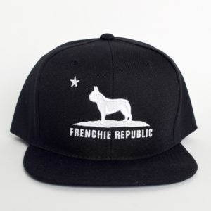 Frenchie Republic Black + White Cap