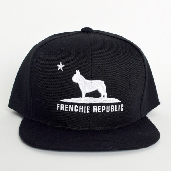 Frenchie Republic Black + White Cap
