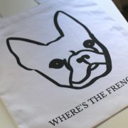 Where's The Frenchie Tote