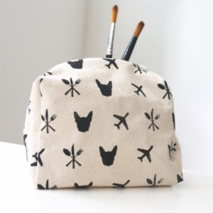 Eat Play Jetset Cosmetic Pouch