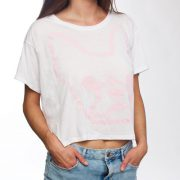 Pop Frenchie Tee Pink