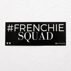 Frenchie Squad Sticker